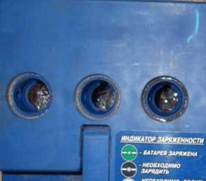 Замерзание электролита в аккумуляторе