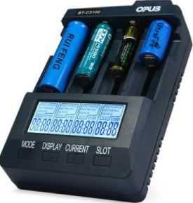Зарядка ведется с контролем по различным параметрам