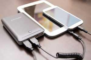 Заряд через интерфейс USB