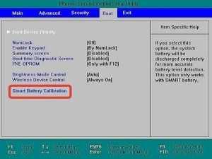 Встроенная калибровка в BIOS