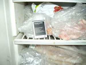 Аккумулятор в холодильнике