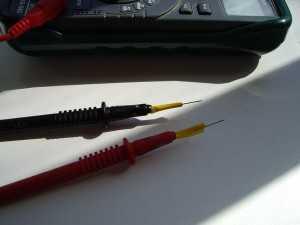 Щупы мультиметра с иголками