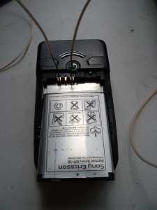 Включение телефона напрямую без аккумулятора