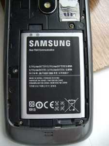 Смартфон с большой ёмкостью аккумулятора
