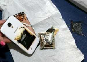 Последствия воспламенения аккумуляторной батареи