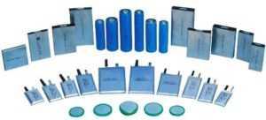 Разные виды литиевых батарей