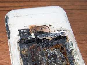 Реальные случаи взрыва АКБ телефона