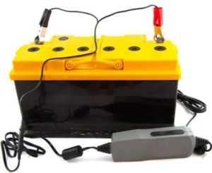 Перезарядка автомобильного аккумулятора