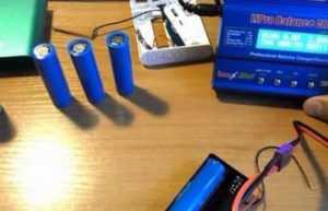 Зарядка литиевых батарей