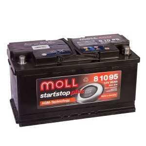 AGM аккумулятор Moll