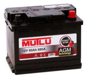 Аккумулятор Mutlu AGM