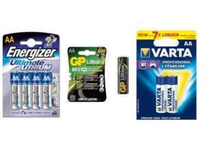 Литиевые батарейки АА