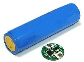 Защита аккумуляторного элемента 18650
