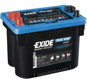 Аккумулятор Exide для лодочного электромотора