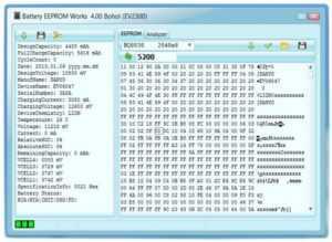Программа Battery EEPROM Works
