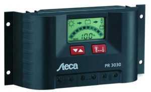 Пример контроллера заряда для солнечной панели