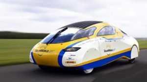 Электромобиль Solar World GT