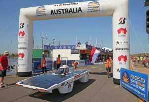 Гонки на электромобилях в Австралии, Дарвин – Аделаида