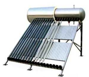 Солнечный водонагреватель с замкнутым контуром