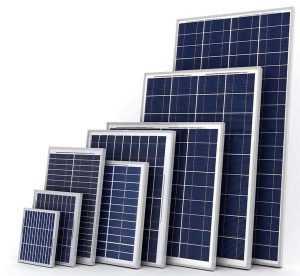 Напряжение солнечных модулей