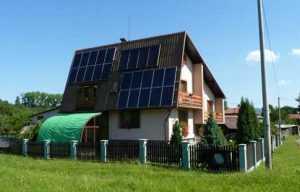 Расположение солнечных батарей