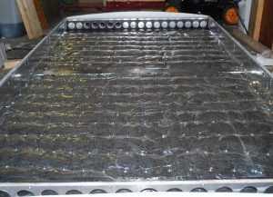 Воздушный коллектор из водосточных труб