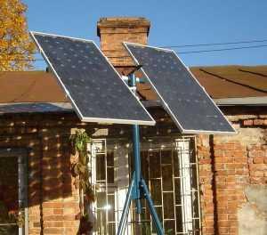 Габариты солнечных модулей