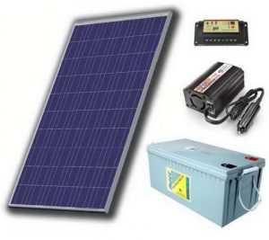 Комплектация солнечных панелей