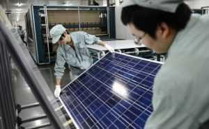 Производители солнечных модулей