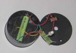 Устройство садового светильника на солнечных батареях