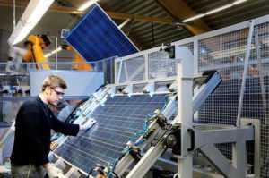 Технология производства солнечных фотоэлементов