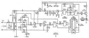 Принципиальная схема зарядного устройства «Кедр-М». Вариант 2