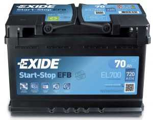 АКБ Exide Start-Stop EFB