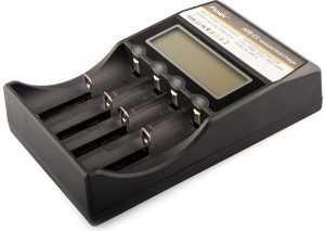 Зарядное устройство с выбором под разный типоразмер