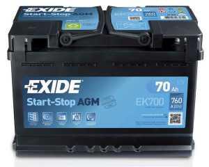Аккумулятор Exide Start-Stop AGM
