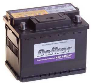 Delkor 6СТ-60 R+ (560 901 068) AGM
