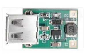 Контроллер заряда аккумулятора телефона с USB