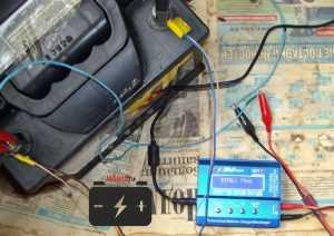 Внутреннее сопротивление автомобильной АКБ по показаниям SkyRC iMax B6 mini