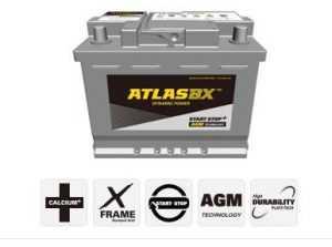 AGM аккумулятор Atlas