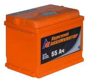 Курский аккумулятор 55 Ач