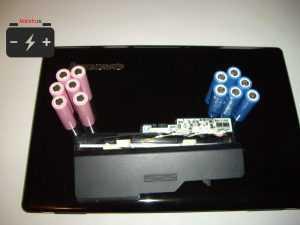 Перепаковка аккумулятора ноутбука