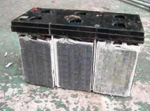 Сульфатация пластин аккумуляторной батареи