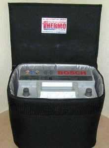 Аккумулятор в термокейсе
