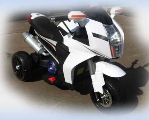 Детский электроскутер Double Motor