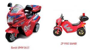 Bambi BMW 0615 и ZP 9983 BAMBI