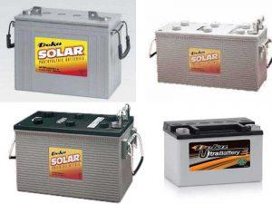 Аккумуляторы Deka UltraBattery и Solar