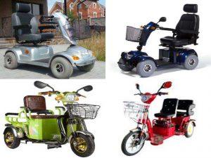 Электроскутеры для пожилых людей