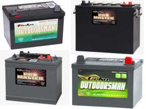 Аккумуляторы Deka Outdoorsman и Deka Pro Master