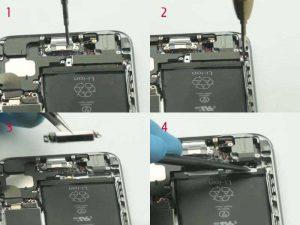 Готовим аккумулятор iPhone 6 для снятия