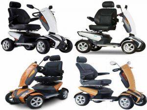 Электрический скутер S12 Vita